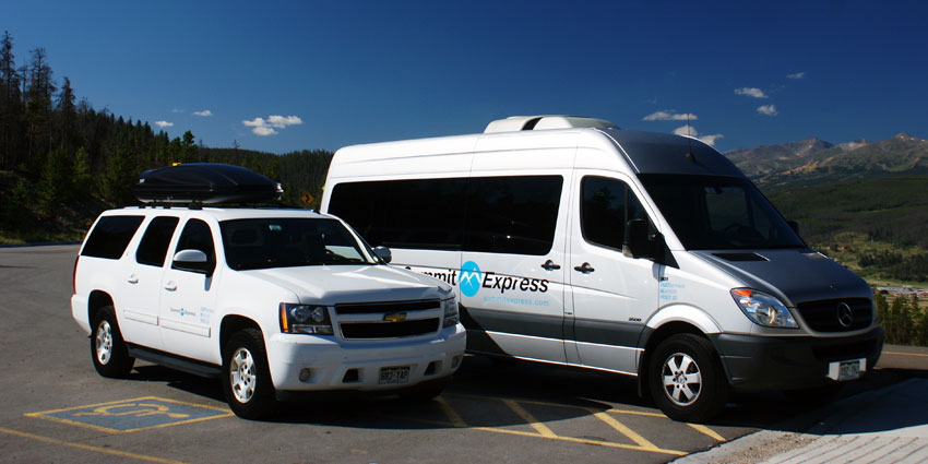Copper Mountain springter van shuttles