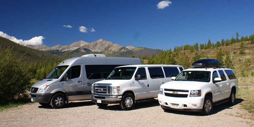 summit express airport shuttle fleet