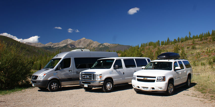 airport shuttle vehicles