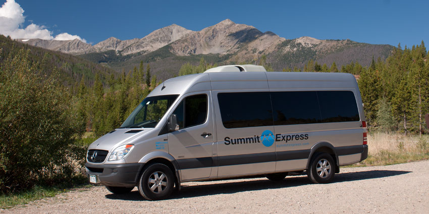 sprinter van airport transportation