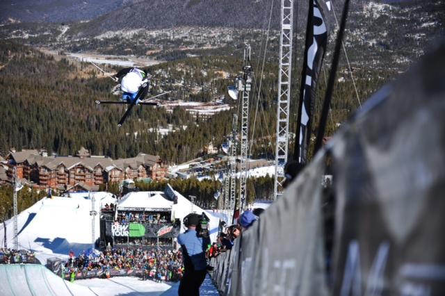dew tour ski halfpipe