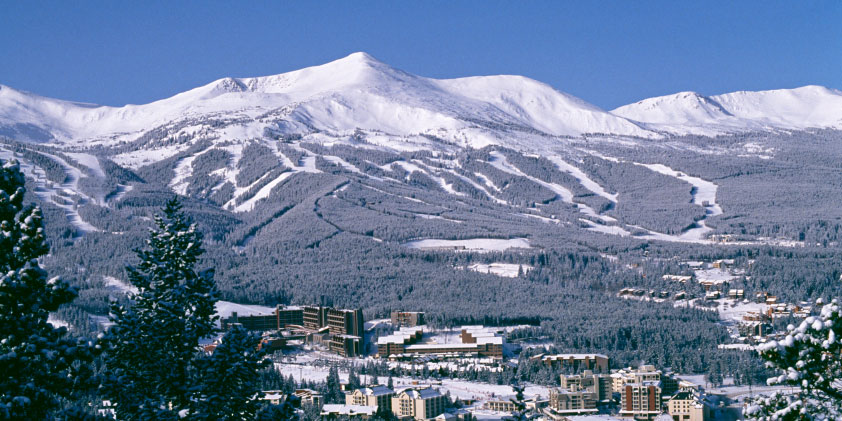 breckenridge winter view