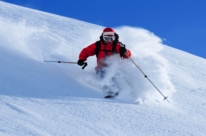 CO powder skier