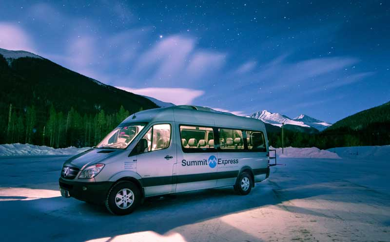 summit express sprinter van winter