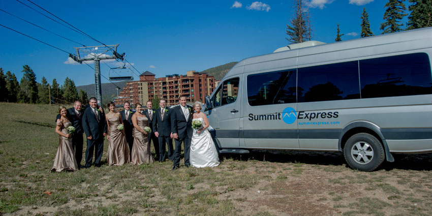 breckenridge wedding transportation
