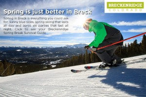spring break in Breck