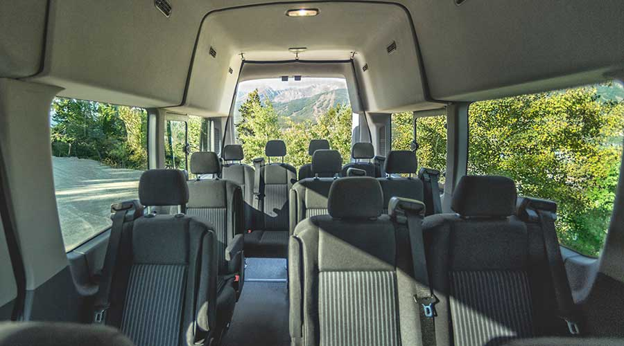 2015 ford transit van interior