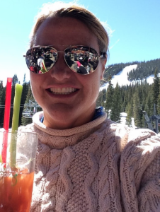Bacon Bloody Mary at Abasin