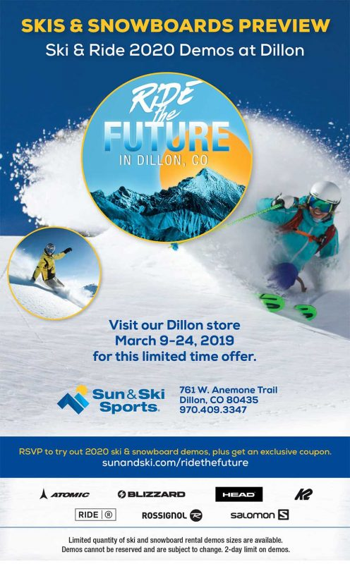Ride the Future at Sun & Ski Sports - Dillon