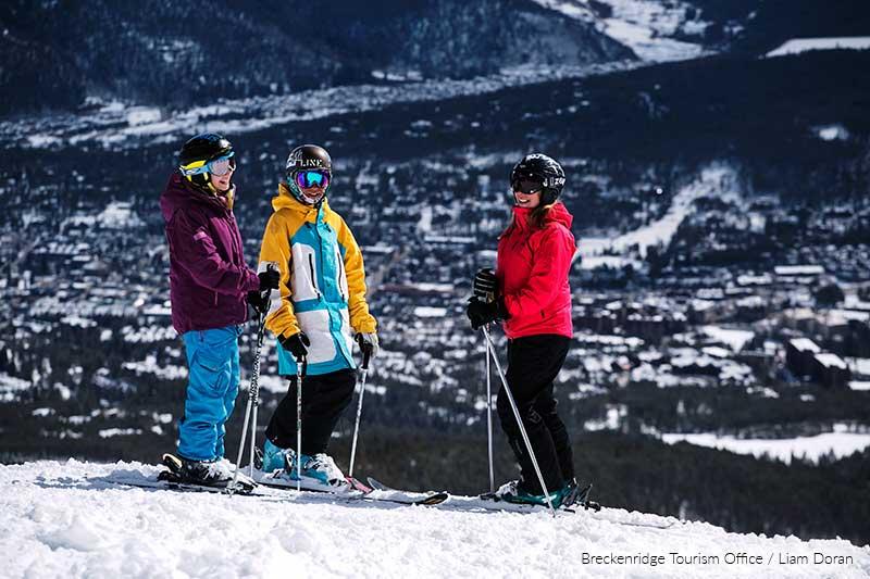 breckenridge skiers
