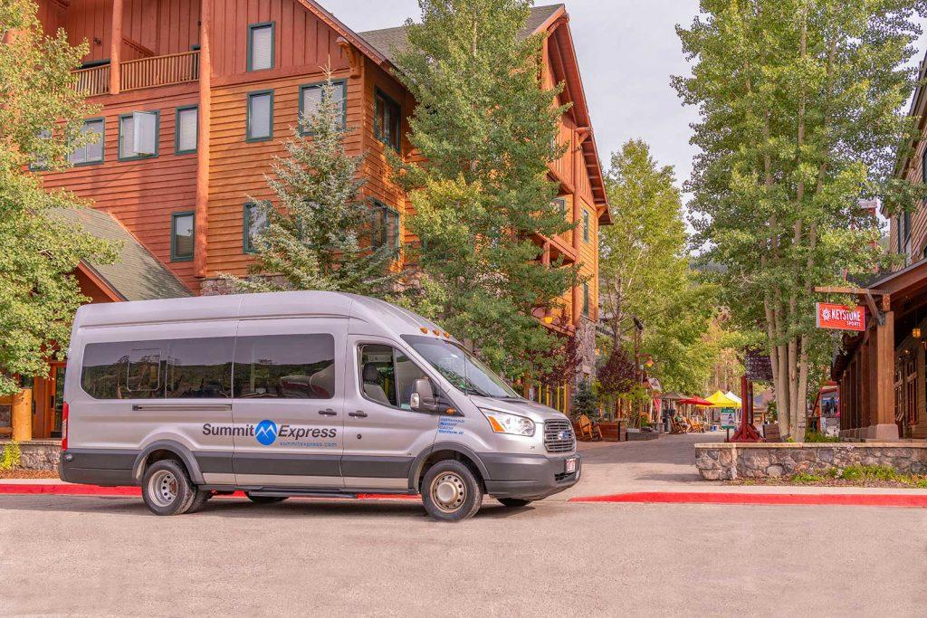 Summit Express Van at Keystone