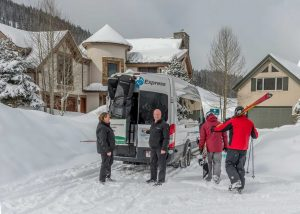 Summit Express Vans Winter with skiers.jpg