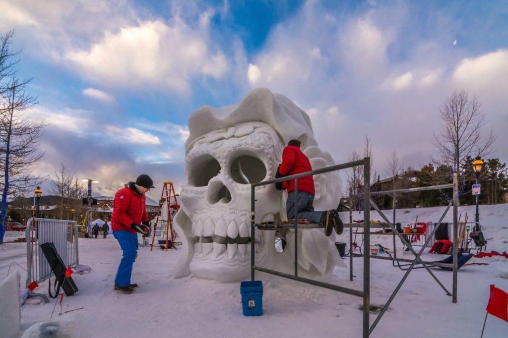 snow skull