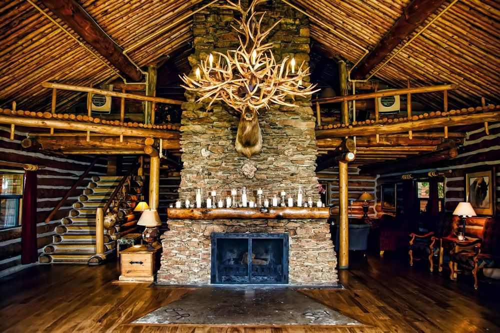 keystone ranch fireplace