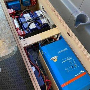 Ford Transit Conversion Van Battery Pack