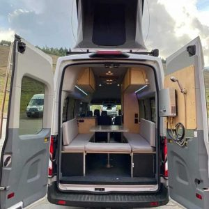 Ford Transit Conversion Van Rear with Tent