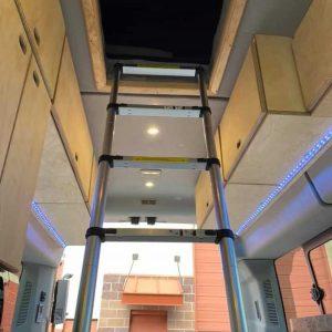 Ford Transit Conversion Van Tent Ladder