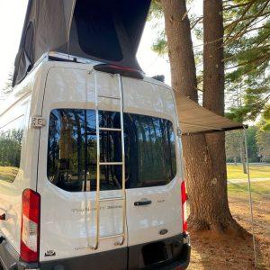 Summit Express Transit Van in the Wild Camper top