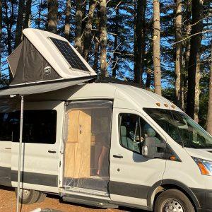 Summit Express Transit Van in the Wild awning