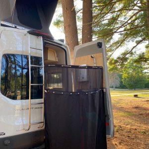 Summit Express Transit Van in the Wild stand up shower