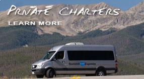 Private Charter Service Denver Airport Summit County Breckenridge Keystone